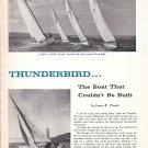 "1964 Thorstand Yachts 26' Cruising Sloop ""Thunderbird"" Review- Photos & Drawings"