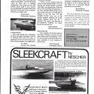 1973 Sleek- Craft Boats Ad- Photo of 23' Day Cruiser