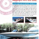 1993 Sanger Boats Color Ad- Photos of DX-11- 22FX & 20'