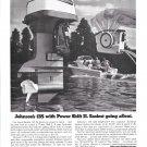 1972 Johnson 135 HP Outboard Motor Ad- Nice Photo