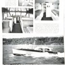 Old 1940 Consolidated 50' Yacht Ad Nice Photo Marlen V