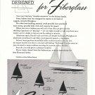 1960 Sailstar Boats Ad- Photo of Little Bear Sailboat