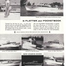 1960 Colonial Cruisers Boats Ad- Photos of 6 Models- Hot Girl