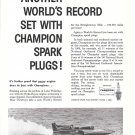 """1960 Champion Spark Plugs Ad- Nice Photo Hydroplane """"Mis Thriftway"""""""