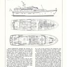 1981 Cheoy Lee 84 Motor Yacht Ad- Boat Specs & Drawings
