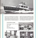 1968 Huckins 56' Sportfisherman- Cruiser Yacht Ad- Boat Specs & Nice Photos