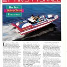 1994 Schiada 21' River Tunnel Boat Review- Boat Reviews & Nice Photos