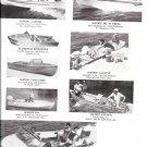 1961 New Boats Ad-Lancer-Feather-Aer Craft-Aluma-Crestliner-Traveler-Alumakit-Mirro-Nice Photos