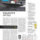 2020 Velocity 260 Bay Boat Review- Boat Specs & Photo