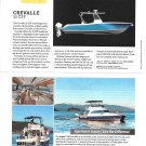 2020 Crevalle 33 CSF Boat Color Ad- Boat Specs & Photo