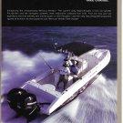 2004 Mercury Verado 250 HP Outboard Motors Color Ad- Nice Photo Fountain Boat