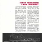 1972 Concorde 54 Super Fisherman Yacht Review- Boat Specs & Drawings