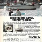 Old O'Day 30 Yacht Color Ad- Nice Photo