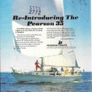 1970 Pearson 35 Yacht Color Ad- Nice Photo