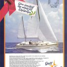 1971 Gulf Star 43 Yacht Color Ad- Boat Specs & Nice Photo