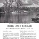 1959 Article Houseboat Living in the Everglades- Great Photos