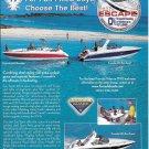 2004 Thunderbird Formula Boats Color Ad- Nice Photo of 330-260 & 280