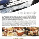 "2004 Hargrave 100' Custom Yachts Color Ad- Nice Photo of ""La Marchesa"""