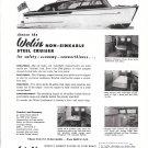1952 Welin 26' Cruiser Yacht Ad- Nice Photos