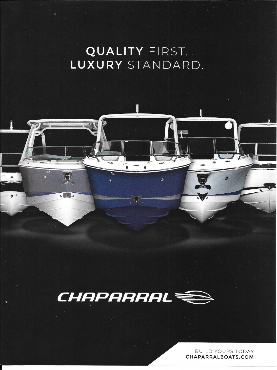 2021 Chaparral Boats Color Ad- Nice Photo