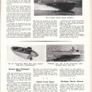 1950 Distin Boat sales Inc Ad- Photo of Distin Inboard Runabout