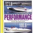 1998 Eliminator Boats 2 Page Color Ad- Photos of 10 Models