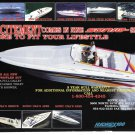 1998 Sonic USA 260 Prowler SUV Boat Color Ad- Nice Photo