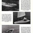 1974 Mako 26- Browning 23 & Coast Catamaran Hobie Cat New Boats Ad- Photos