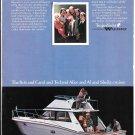 1974 Trojan F-36 Yacht Color Ad- Nice Photo