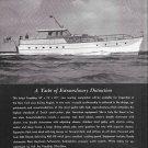 1953 Feadship 59' Yacht Ad- Nice Drawing