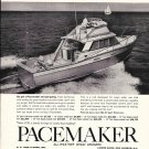1964 Pacemaker 33' Sport Fisherman Yacht Ad- Nice Photo
