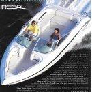 1996 Regal Boat Color Ad- Nice Photo
