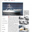1997 Aura 28 Yacht Review- Boat Specs & Nice Photos