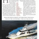 1997 Hatteras 90 Yacht Review- Boat Specs & Nice Photo