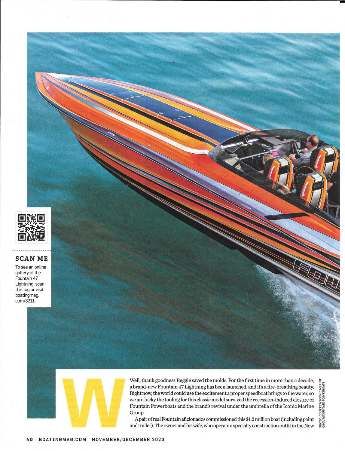 2021 Fountain 47 Lightning Boat Review- Boat Specs & Nice Photos