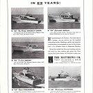 1959 Matthews Yachts Ad- Photos of 5 Models