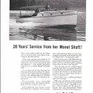 "1953 Inco Nickel Alloys Ad- Nice Photo of Ruddick Built Boat ""Zula"""