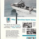 1959 Owens Boat Company Ad- Nice Photo of Owens 22' Deluxe Cruiser