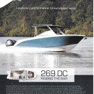 2020 Stingray 269 DC Boat Color Ad- Nice Photo