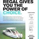 2021 Regal Boats Color Ad- Nice Photo