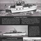 1948 Feadship Yacht Co Ad- Nice Photos of 55- 30 & 40' Models