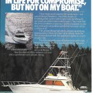 1988 Viking 45 Convertible Yacht Color Ad- Nice Photo