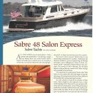 2012 Sabre 48 Salon Express Yacht Review- Boat Specs & Nice Photo