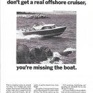 1965 Chris- Craft 27' Cavalier Seastrake Boat Ad- Nice Photo