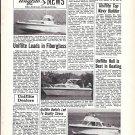 1970 Uniflite Boats Ad- Photo of 27'- 23' & 31' Models