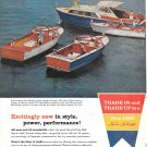 1960 Chris- Craft Boats Color Ad- Nice Photo of 36- 20- 27 & 23' Models