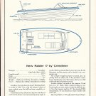 1966 Crestliner Raider 17 Boat Ad- Boat Specs & Drawing