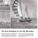 1963 Pearson 38' Invicta Yacht Ad- Nice Photos