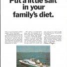 1967 Chris- Craft 27' Seastrake Cavalier Yacht Color Ad- Nice Photo