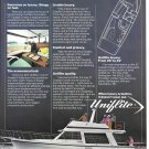 1979 Uniflite 37' Coastal cruiser Yacht Color Ad- Nice Photo